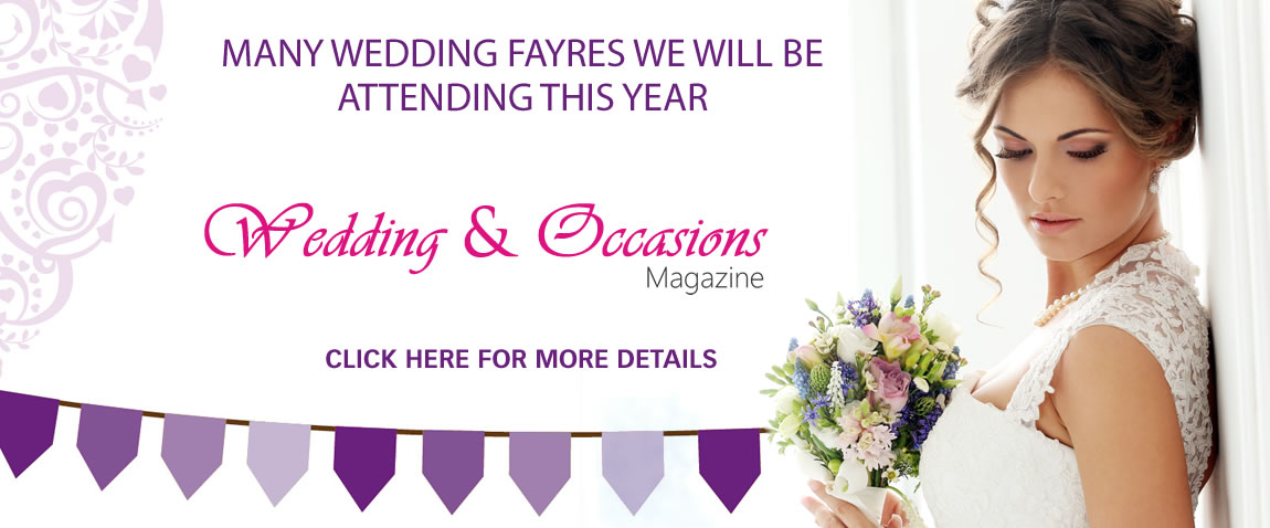 Click Here For Wedding Fayres We Are Attending
